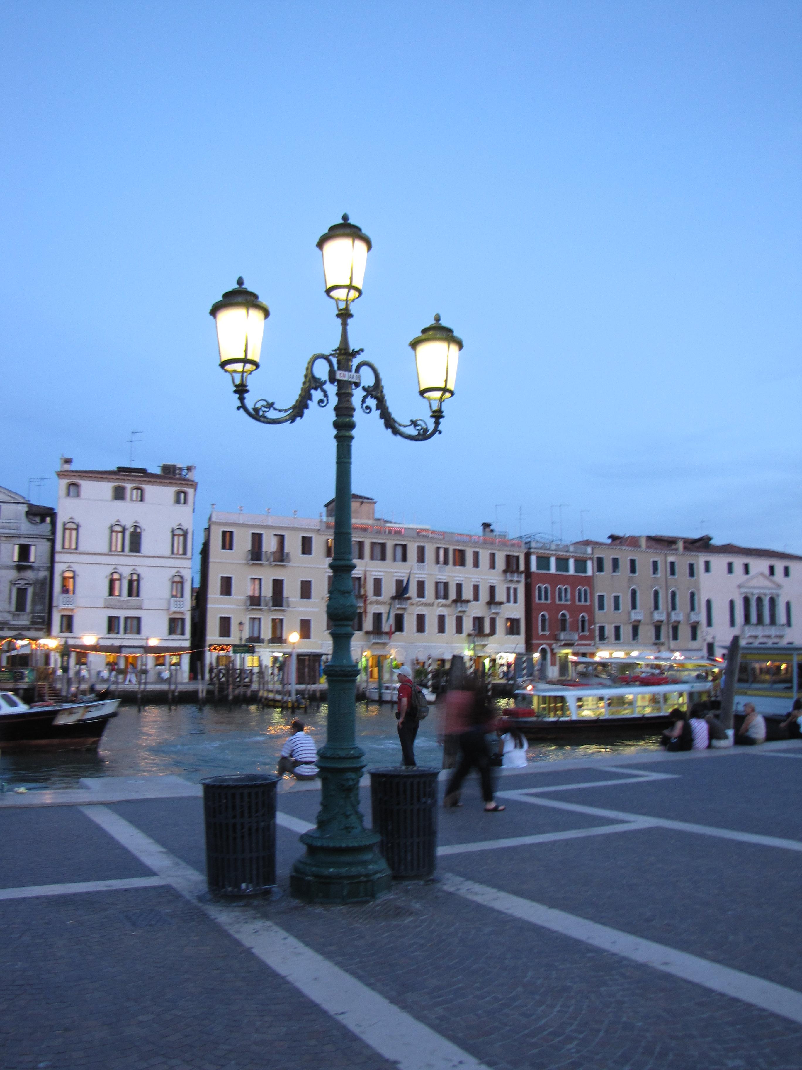 Venice: Last photograph before boarding the train