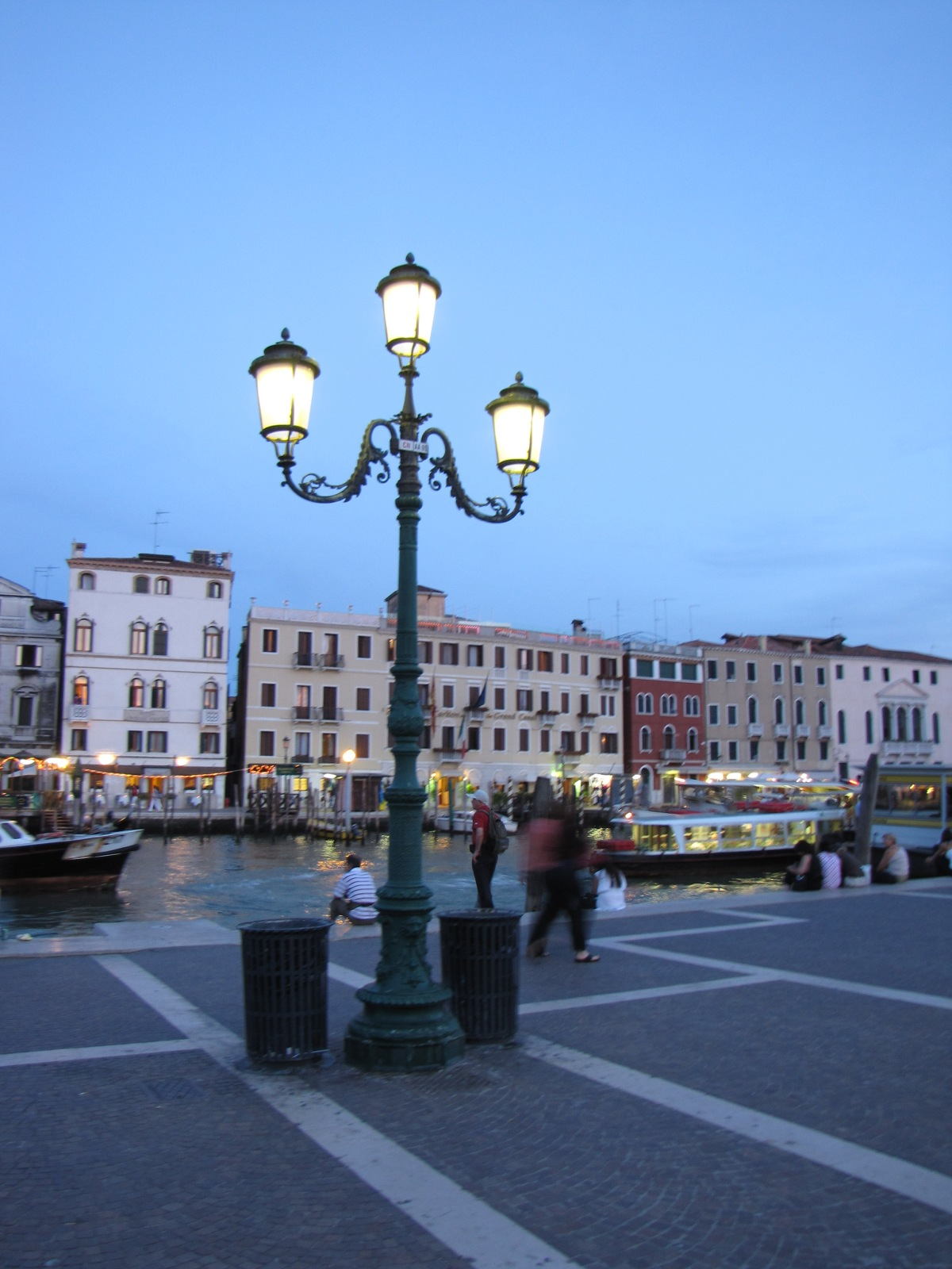 Venice: Last photograph before boarding the train