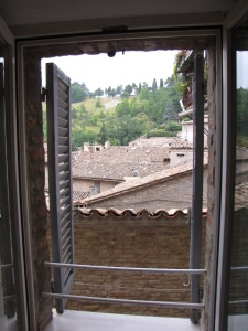 Urbino: View from my room