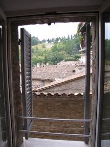 Urbino: View from my room