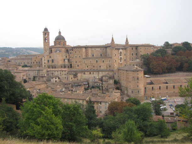 Urbino - seen from the opposite hill